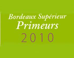 Dégustation Bordeaux Supérieur Primeurs