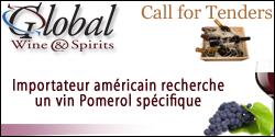 GImportateur américain recherche Pomerol