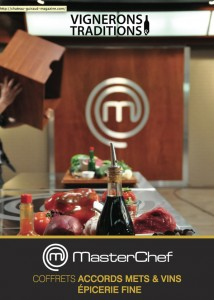 Coffret Master Chef Vignerons & Traditions