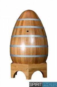 Cuve O'wine en forme d'Oeuf