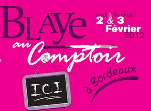 Blaye au Comptoir 2012