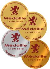 Concours des Vins de Lyon 2012