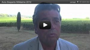 Avis d'experts Vendanges 2012