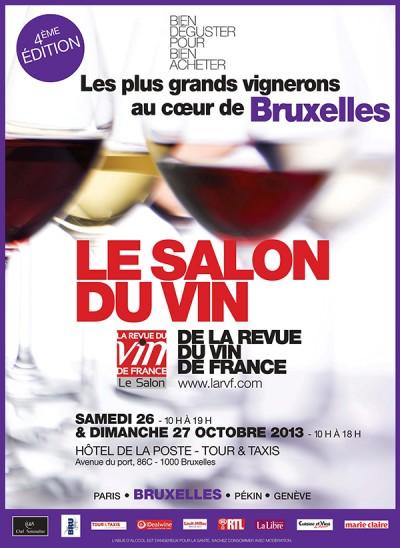 Salon du vin de Bruxelles 2013 par La Revue du Vin de France