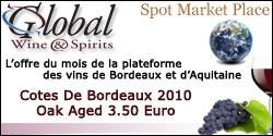 Cotes de Bordeaux 2010