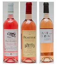 3 Bordeaux Rosé Oscars de l'été 2013