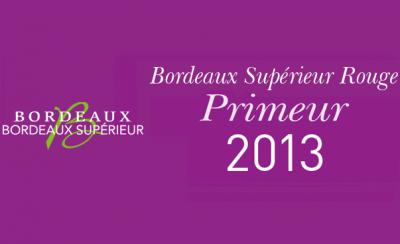 Dégustation Primeur Bordeaux Supérieur Rouge