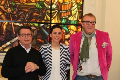 Amandine Giret, Xiradakis et Olivier Dauga