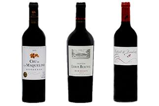 3 Oscars Bordeaux Rouge