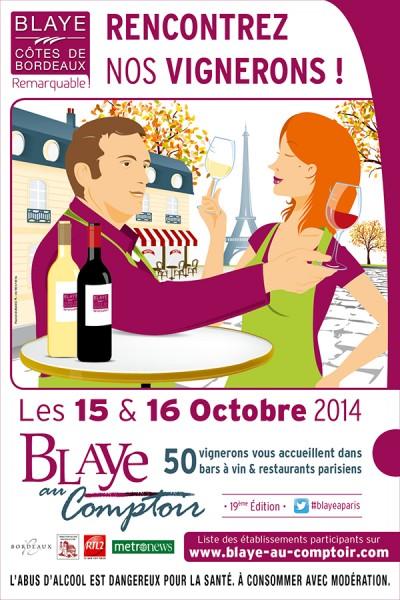 Blaye au Comptoir Pari 2014