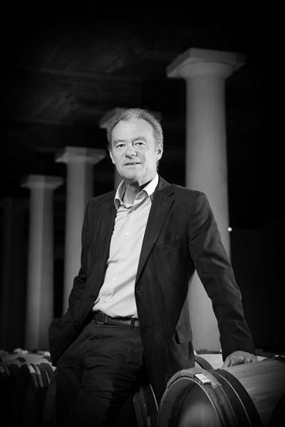 Paul Pontallier au Château Margaux