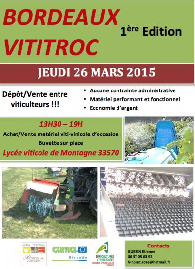Bordeaux Vititroc 2015
