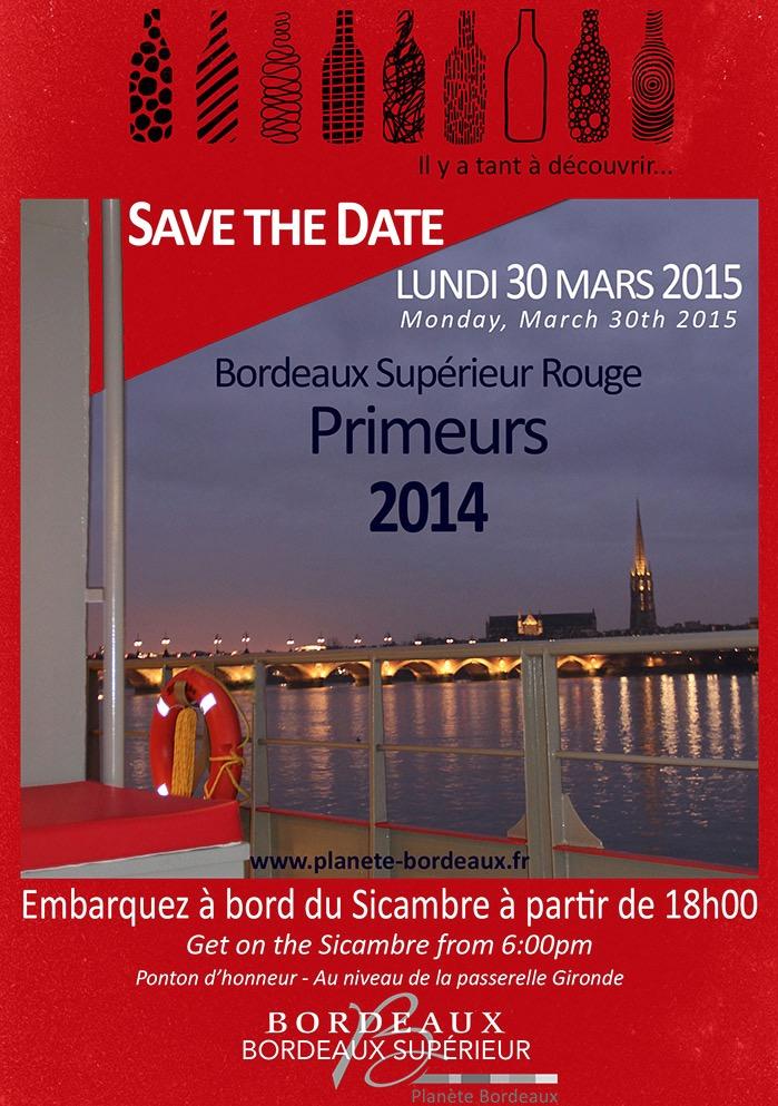 Bordeaux Supérieur Rouge Primeurs 2015