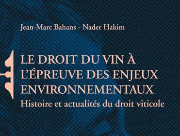 Droit du Vin & Environnement