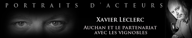 Xavier Leclerc photographié au Château Le Gay-Pomerol