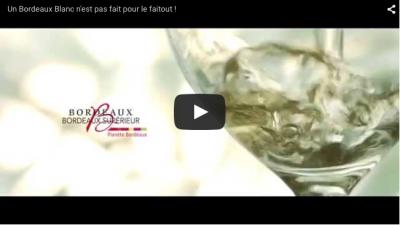 Un Bordeaux Blanc se déguste !