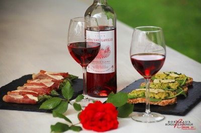 Tapas Asparagus and Bordeaux Clairet