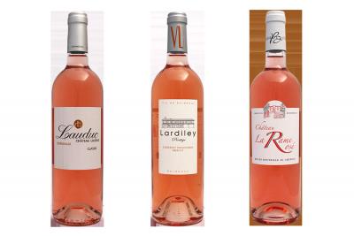 3 Bordeaux Rosé Millésime 2014