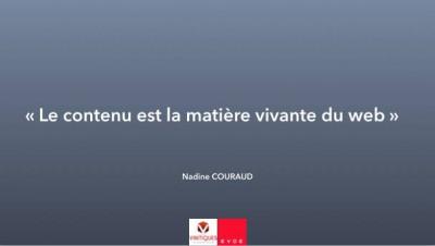 Nadine Couraud, agence evoe