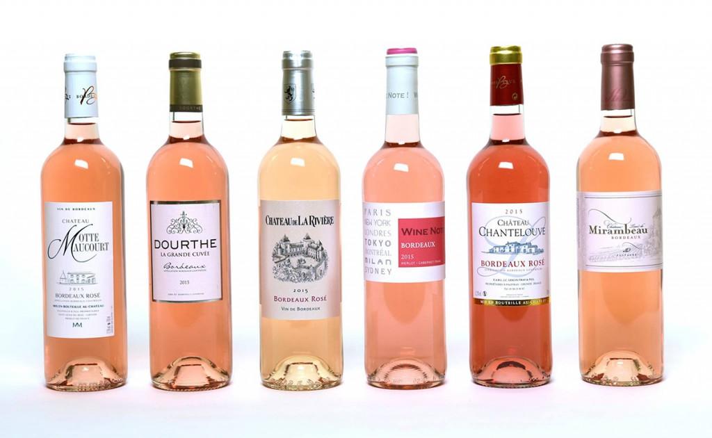 Oscars des Bordeaux Rosé Millésime 2015