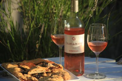 Fougasse Néo-Aquitaine et Bordeaux Rosé
