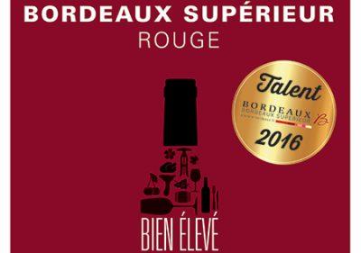 Talents 2016 Bordeaux Supérieur