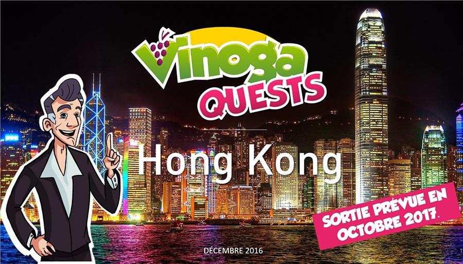 Vinoga Quest Hong-Kong