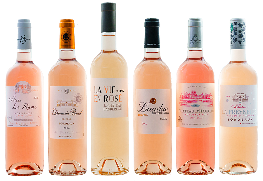 Oscars Bordeaux Rosé Millesime 2016