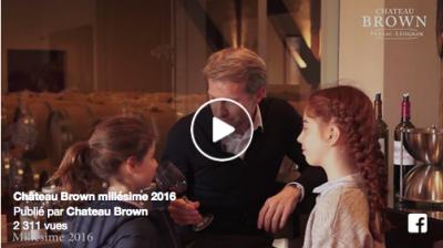Château Brown millésime 2016