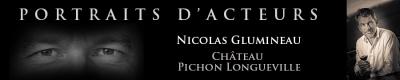 Nicolas Glumineau, directeur général du Château Pichon Longueville